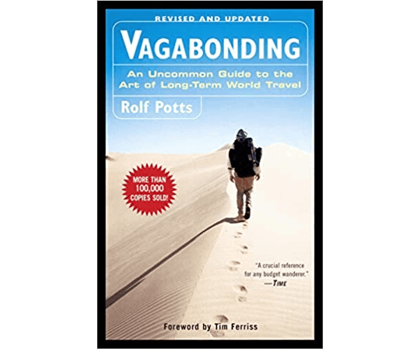 Nicholas Ayala Recommended Book: Vagabonding by Rolf Potts