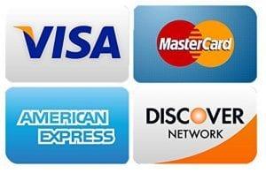 Visa MC Amex Discover