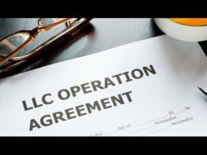 LLC operating agreement
