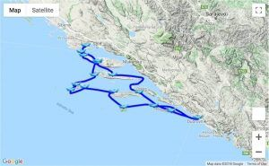 Itinerary 14-day Trogir - Dubrovnik - Trogir