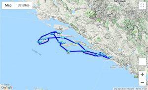 Itinerary 14-days Dubrovnik - Korčula - Hvar - Vis - Lastovo