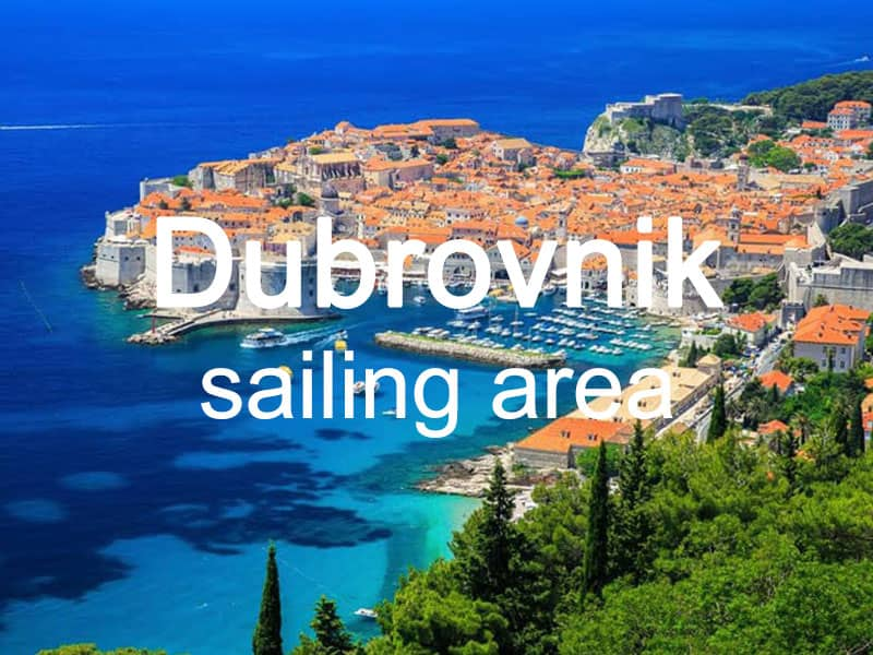 Dubrovnik sailing area itinerary