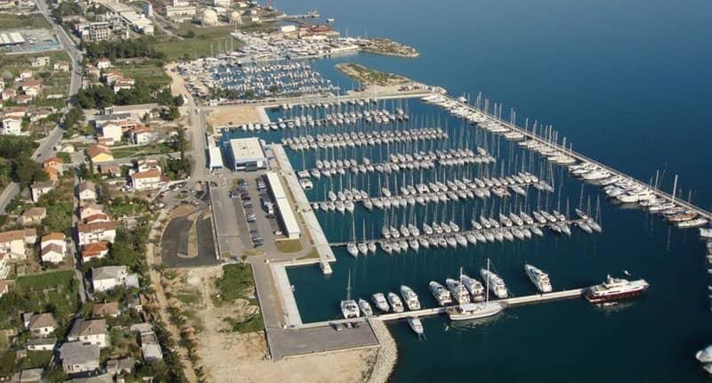 Kastela marina Catamaran charter Croatia
