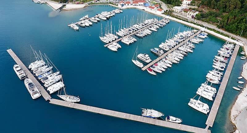 Slano marina Catamaran charter Croatia