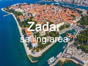 Zadar sailing area itinerary