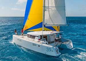 Bareboat rental multihull