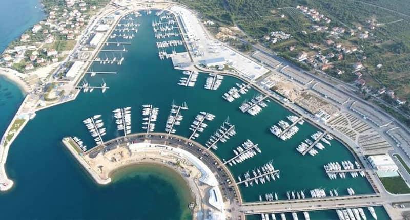 Sukosan marina Catamaran charter Croatia