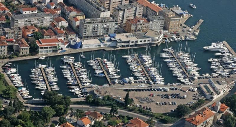 Zadar marina Catamaran charter Croatia