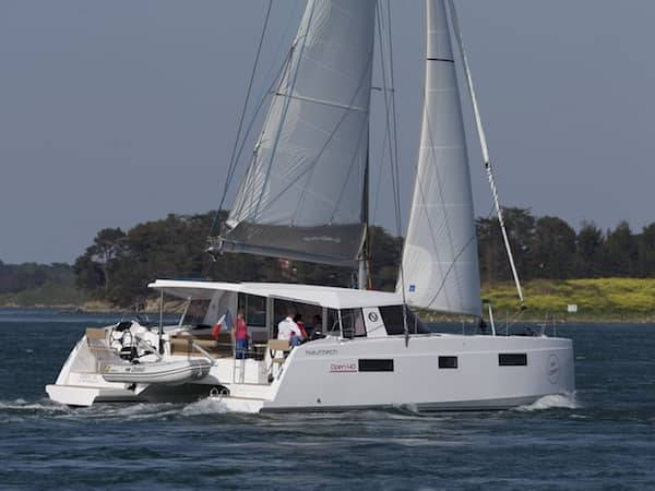 Catamaran Charter Croatia Nautitech 40 what is a catamaran