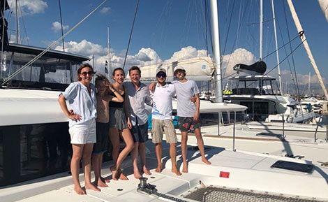 Catamaran Charter Croatia clients