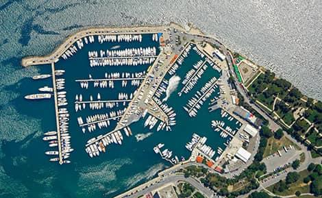 Catamaran Charter Croatia marina