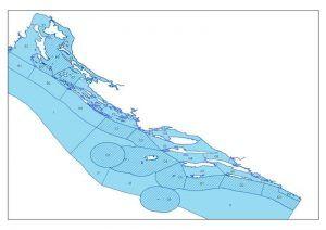 Croatia fishing zones