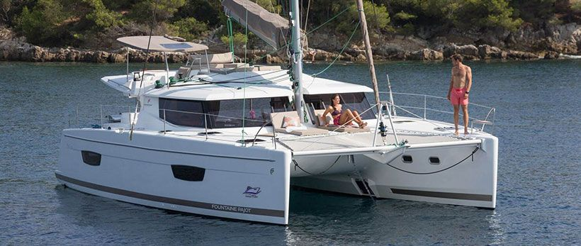 Fountaine Pajot Helia 44 Catamaran Charter Croatia