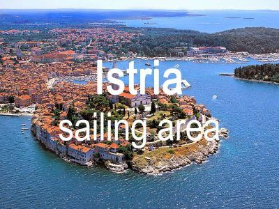 Istria sailing area itinerary