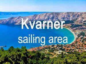 Kvarner sailing area itinerary