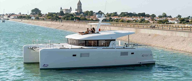 Lagoon 40 MY Power Catamaran Charter Croatia