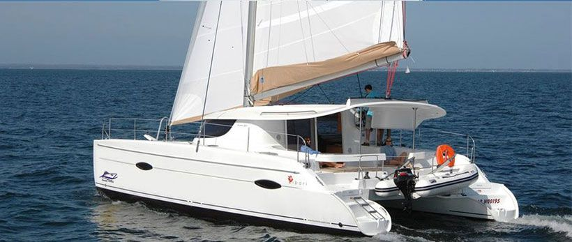 Fountaine Pajot Lipari 41 Catamaran Charter Croatia