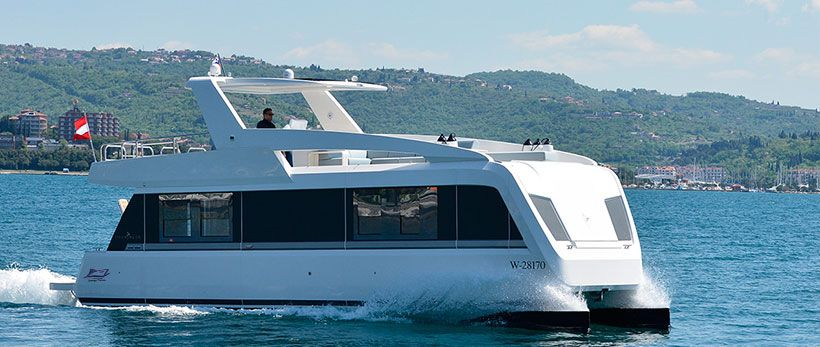 Overblue 44 Power Catamaran Charter Croatia