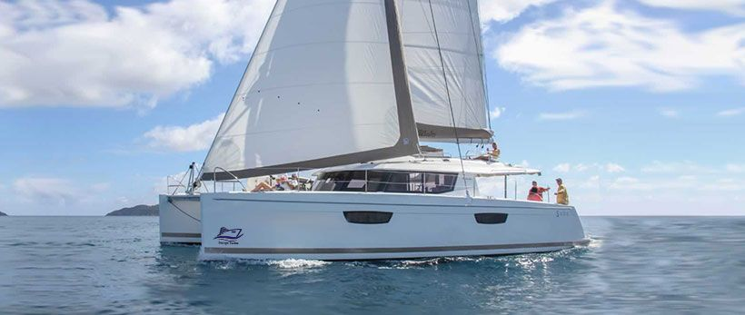 Fountaine Pajot Saba 50 Catamaran Charter Croatia