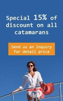 Special Early booking charter discount on all Catamarans for char