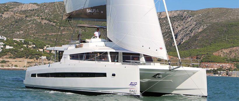 Bali 5.4 Catamaran for charter in Croatia