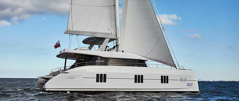 Sunreef 60 Catamaran for charter in Croatia