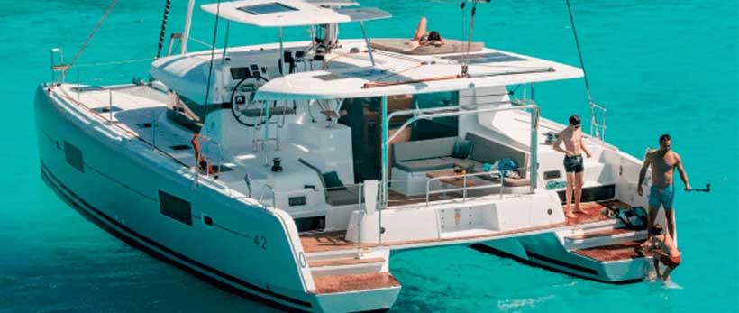 Lagoon 42 Aura Catamaran Charter Croatia