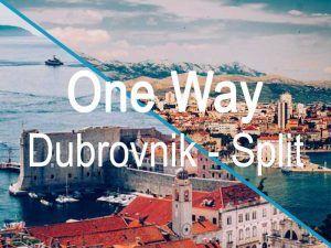 One Way Dubrovnik Split Catamaran Croatia