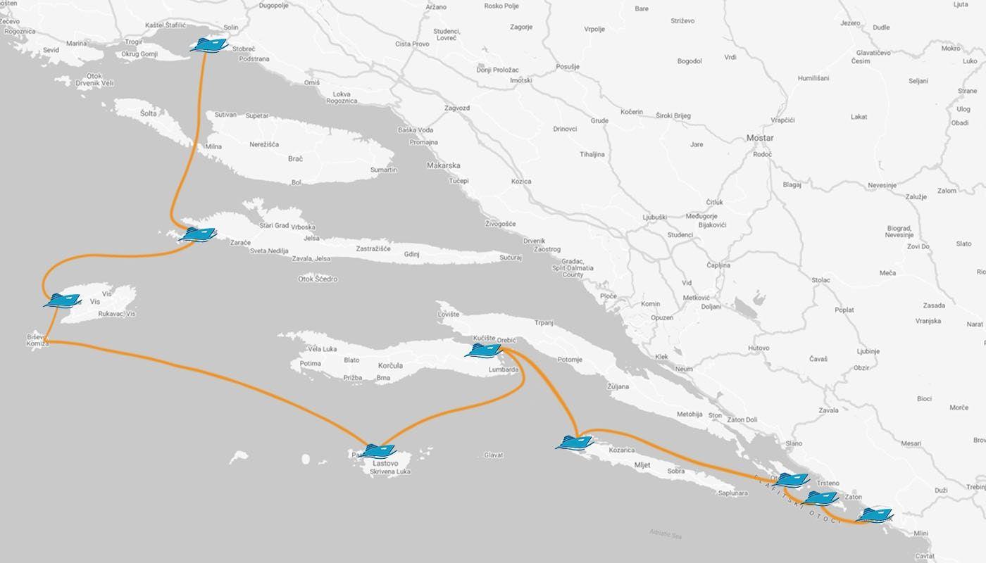 7-days-One-Way-Dubrovnik-Split