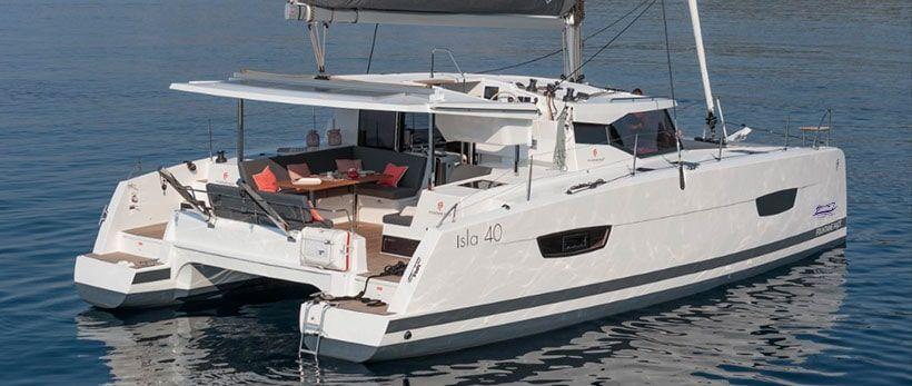 Isla 40 Catamaran Charter Croatia Main