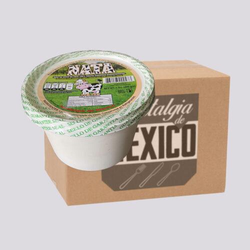 Nata Skimmed Milk Cream 16oz Box
