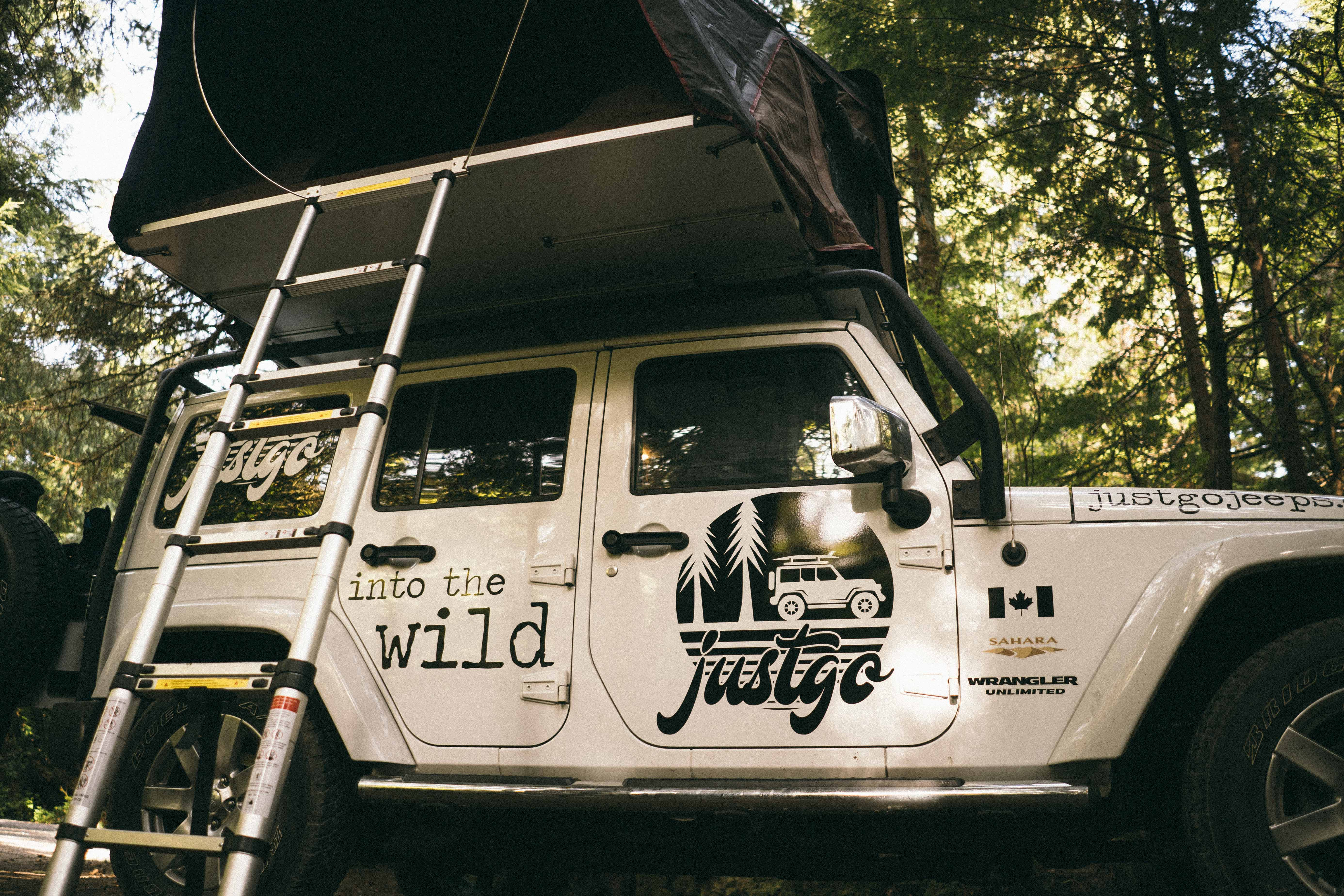 jeep rentals vancouver island british columbia canada camping overlanding