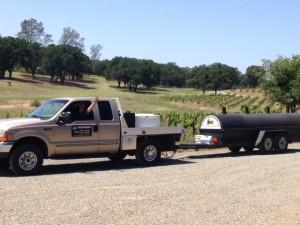 hauling BBQ