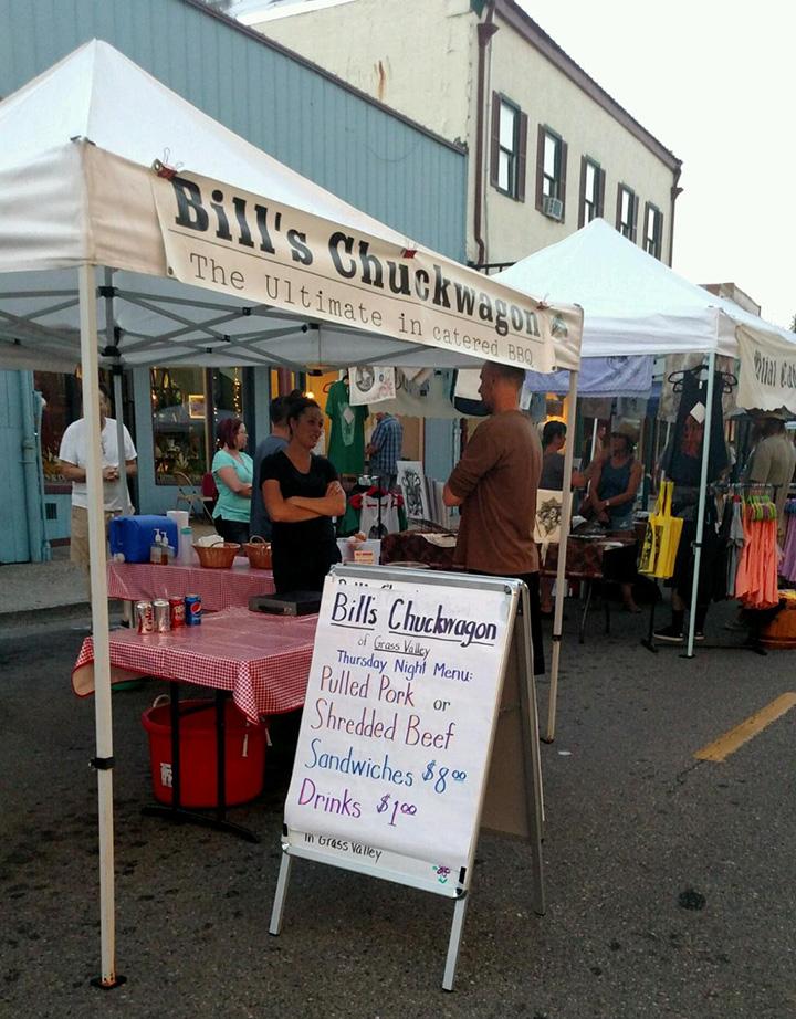 Grass Valley Thursday Night Market