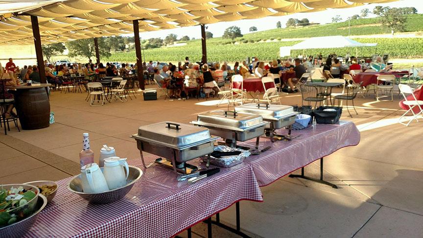 BBQ Catering Naggiar Vineyard Concert