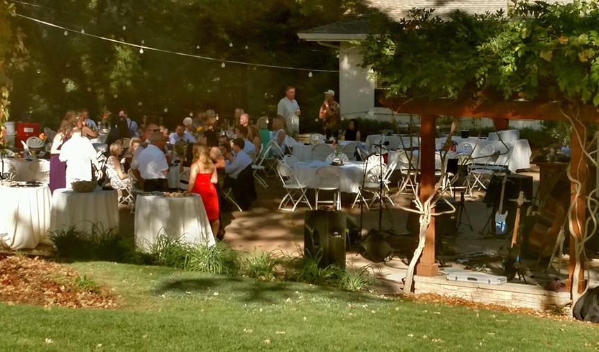 Grass Valley Backyard Wedding BBQ