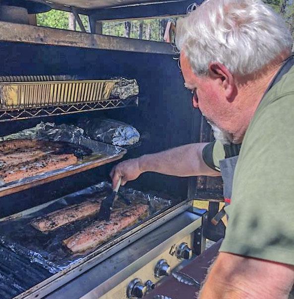 Tom Stanley, owner / master barbequer