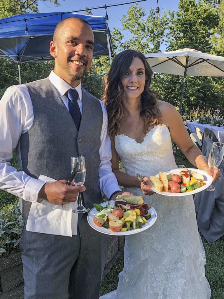 Bill's Chuckwagon at Luccini's Vineyard wedding