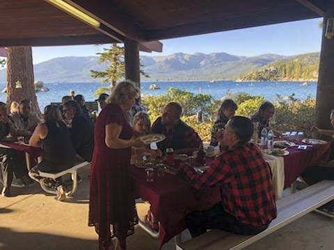 tahoe wedding catering
