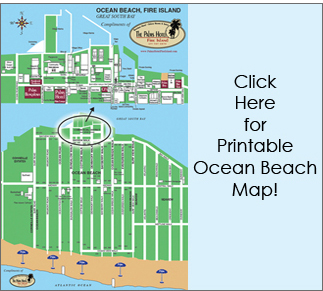 Printable ocean beach map - opens in new window