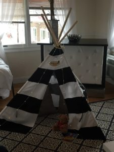 Penthouse Suite childrens teepee