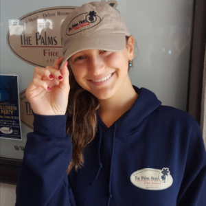 The Palms Hotel tan baseball cap