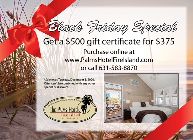 Click to purchase gift certificate