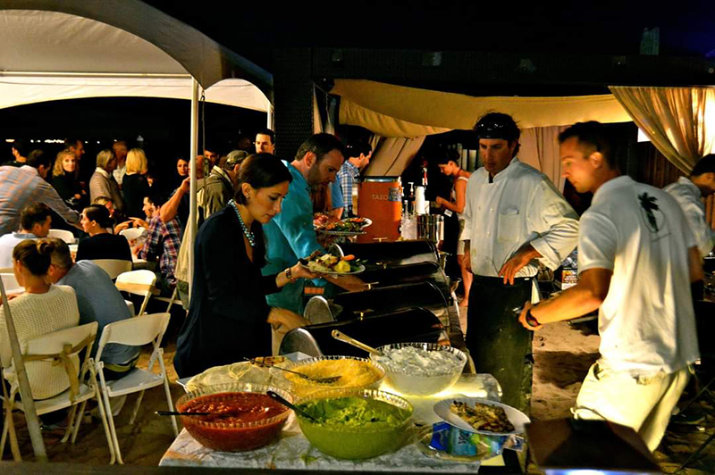 barefoot bbq party