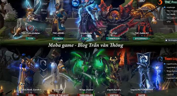 moba game