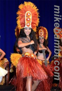 Tahitian dance troupe, Te 'E'a o Te Turama, led by Maile Lee Tavares