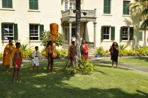 The Royal Court at Hulihe'e Palace, 2014 King Kamehameha Day Parade
