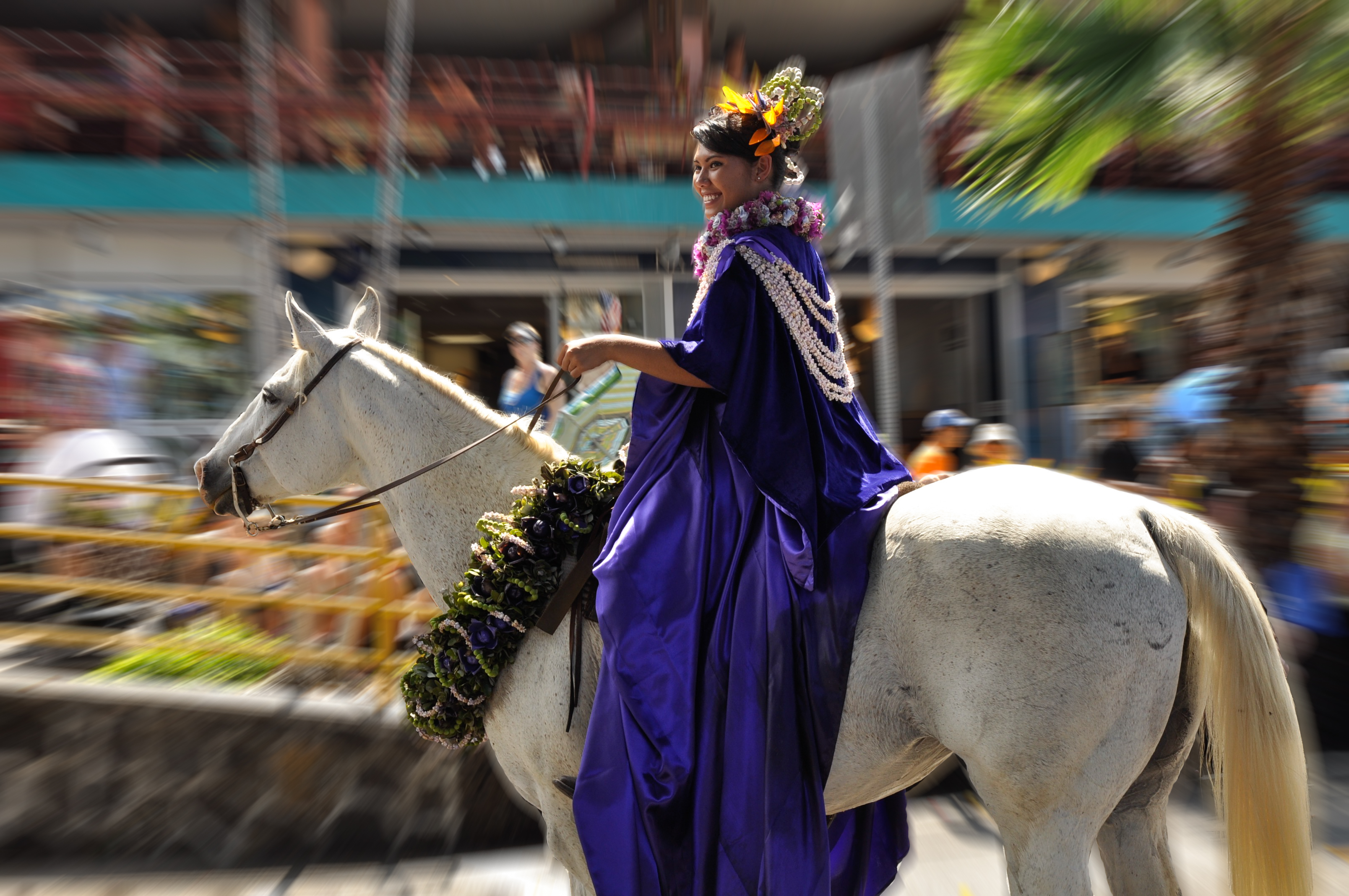 KING KAMEHAMEHA DAY CELEBRATION PARADE — HISTORIC KAILUA VILLAGE
