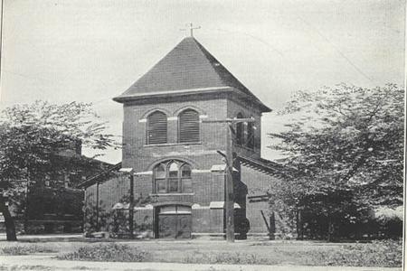 St. Wenceslaus Bohemian Catholic Parish, built 1874.