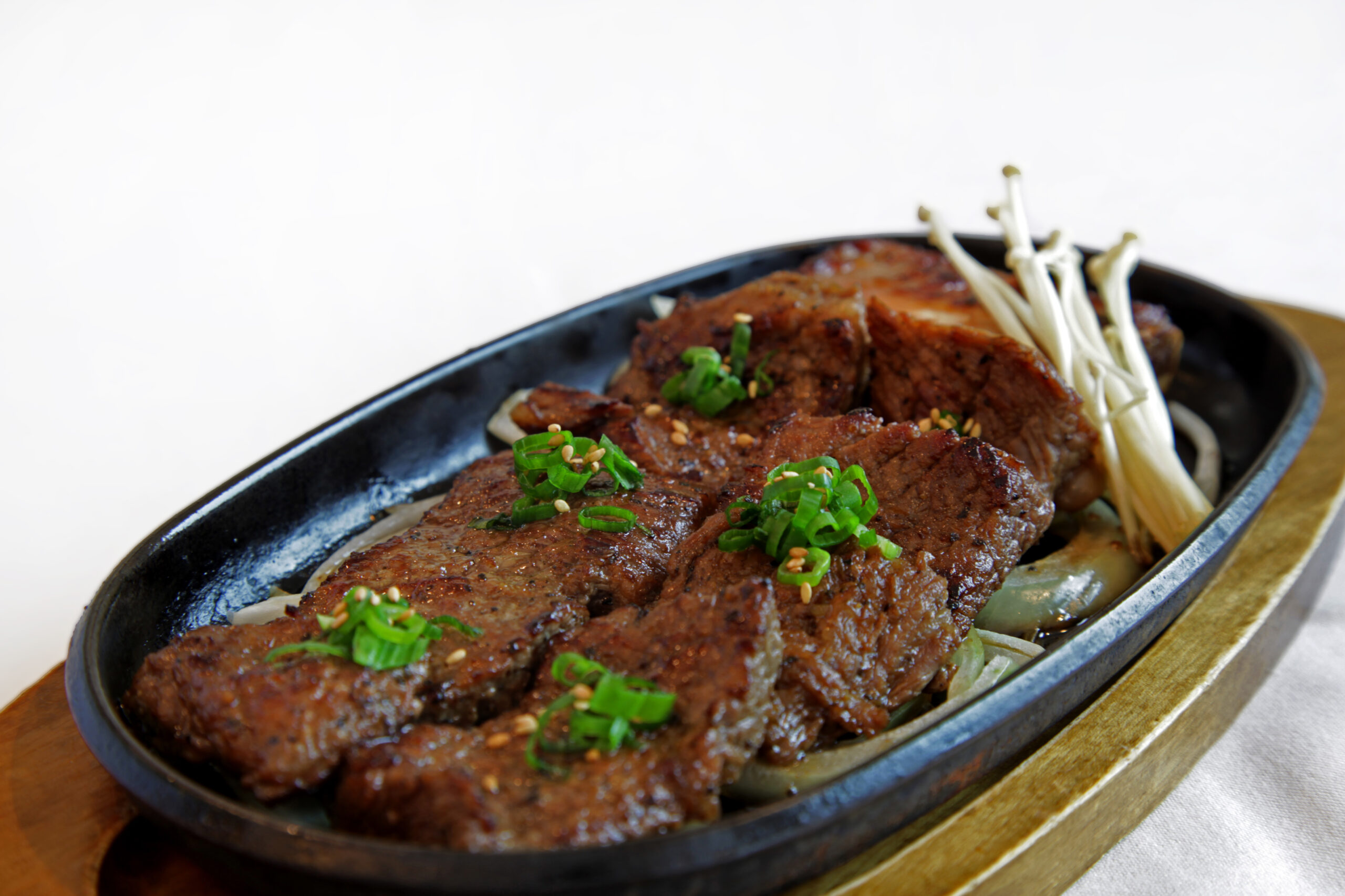Kalbi <br>Mouthwatering, marinated beef prime rib